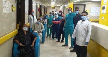 مستشفى إسنا للعزل الصحي تعلن خروج 11 حالة تعافى من كورونا فجراً