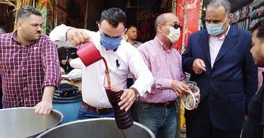 صور.. حملة تموينية مكبرة وسط الإسكندرية تضبط سلع مجهولة المصدر