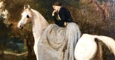 شاهد.. لوحة فنية لـ فيكتور آدم ضمن مقتنيات متحف الفنون الجميلة بالإسكندرية