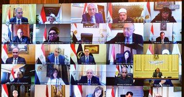 إنفو جراف.. الحصاد الأسبوعي لمجلس الوزراء 8 اجتماعات و11قرارا