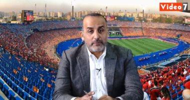 """محمد شبانة فى """"لايف"""" اليوم السابع: الزمالك يزين شعاره بالأكثر تتويجاً"""