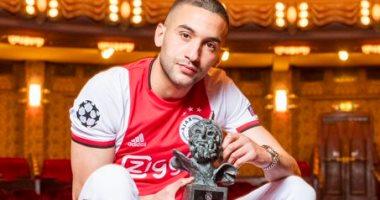 رسميا.. حكيم زياش أفضل لاعب فى أياكس للموسم الثالث على التوالى