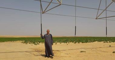 نقيب الفلاحين: وزاراه الزراعة حولت التراب إلي خبز و سكر بمشروع المنيا