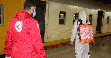 التضامن: تعقيم 312 عربة لقطارات محطة مصر للوقاية من كورونا