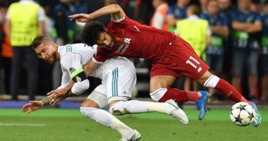 زى النهارده.. عنف راموس ضد صلاح يمنح ريال مدريد اللقب الـ13 بدورى الأبطال