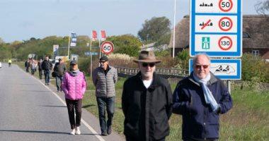 مظاهرات بالدنمارك للمطالبة بفتح الحدود مع ألمانيا