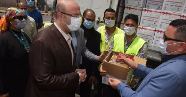 محافظ بنى سويف: إستلام 8 آلاف كرتونة سلع ولحوم لتوزيعها على الأسر