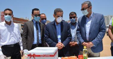 محافظ الغربية يشارك فى إطلاق أكبر قافلة مساعدات إنسانية من صندوق تحيا مصر