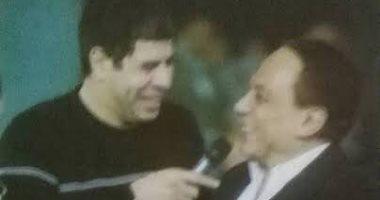 """أحمد شوبير يحتفل بعيد ميلاد عادل إمام: """"كل سنة وأنت زعيم"""""""