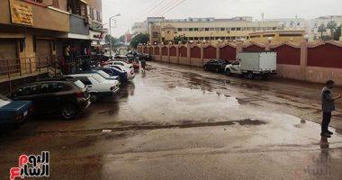 أمطار غزيرة تضرب سوهاج والمحافظة ترفع الاستعدادات للدرجة القصوى