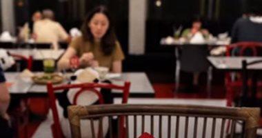 شاهد شكل المطاعم فى زمن كورونا.. فيديو