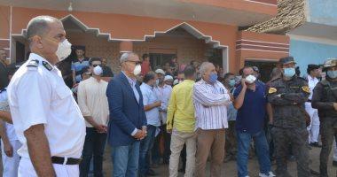 محافظ القليوبية يشهد إزالة 7 مباني مخالفة بكفر الشرفا بشبين القناطر -