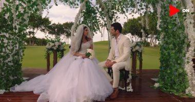 مسلسل فرصة تانية الحلقة 26.. ملك وزياد يحتفلان بزفافهما فى شرم الشيخ -
