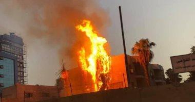 تفاصيل اندلاع حريق بمستشفى حميات إمبابة.. ولا مصابين بين العاملين