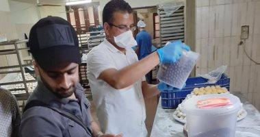 تحرير 9 محاضر تموينية وغلق 2 منشأة غذائية مخالفة بحملة تموينية بشمال سيناء