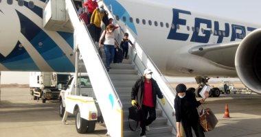 مطار مرسى علم يستعد لاستقبال رحلتين لمصريين عالقين من جده وعمان