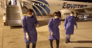 وصول 65 عالقا مصريا فى رحلة قادمة من العاصمة الأردنية عمان لمطار مرسى علم