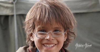 بيع نظارة من الأسلاك المعدنية لطفل يمنى فى مزاد بـ 2.5 مليون ريال