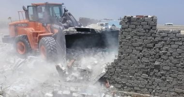 محافظة الجيزة تسترد 10 أفدنة أراضى دولة بالواحات بعد إزالة التعديات عليها