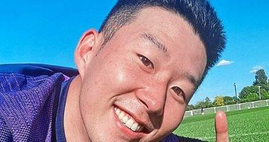 سون هيونج مين يشارك فى تدريبات توتنهام بعد انتهاء الخدمة العسكرية