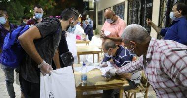 صور.. جامعة عين شمس تستقبل عدة أفواج للمصريين العائدين من الإمارات
