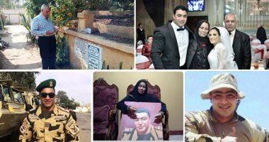 زوجة الشهيد خالد مغربى دبابة: الاختيار جعل الأطفال يبكون على الشهداء