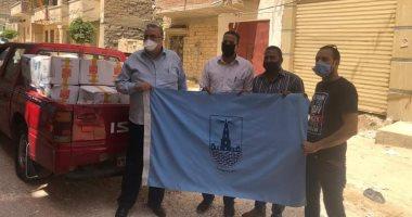 صور.. جامعة الإسكندرية تطلق قافلة مجتمعية لأهالى مستعمرة الجزام