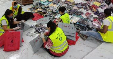 مسلم ومسيحى إيد وحدة ضد فيروس كورونا لمساعدة المتضررين بعين شمس