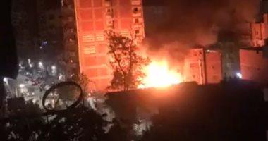 النيابة تطلب التحريات والتقرير الجنائى حول حريق شقة سكنية فى أرض اللوء