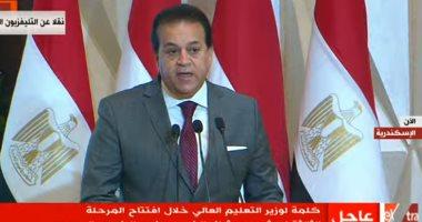 وزير التعليم العالى: 71 ألف إصابة بفيروس كورونا فى مصر وفق نموذج افتراضى