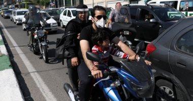 زحام فى شوارع طهران بعد استئناف أنشطتها الاقتصادية يهدد بعودة كورونا
