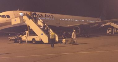 وصول رحلتين استثنائيتين من مطار جدة لمرسي علم علي متنهما 341 عالق مصري