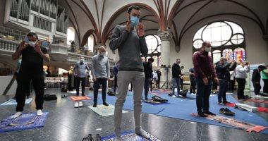 كنيسة فى برلين تستضيف المسلمين لأداء الصلاة فى ظل قواعد التباعد الاجتماعى
