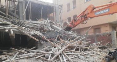 رئيس جهاز الشروق: إزالة فورية لمبنى مخالف بقطعة أرض سبق سحبها