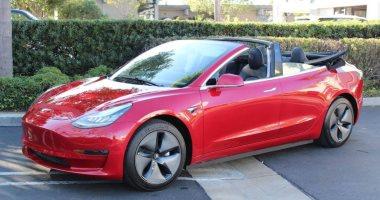 شركة أمريكية تكشف عن نسخة مكشوفة من سيارة  تسلا Model 3