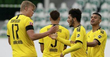 ملخض واهداف مباراة فولفسبورج ضد بوروسيا دورتموند فى الدوري الألمانى