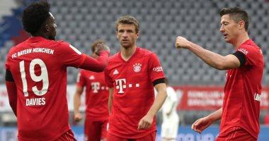 ليفاندوفسكى ومولر يقودان هجوم بايرن ميونخ ضد ليفركوزن بنهائى كأس ألمانيا