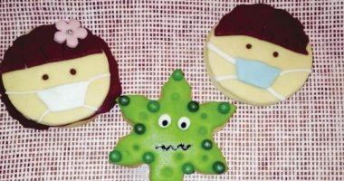 كحك وبسكويت بالكمامة.. أحدث أنواع حلوى عيد الفطر 2020 في زمن الكورونا