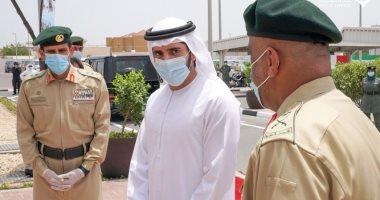 جولة ميدانية لولى عهد دبي في أول أيام عيد الفطر .. صور