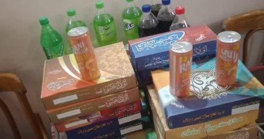 مصادرة 236 عبوة مواد غذائية غير صالحة للاستهلاك بالغربية -