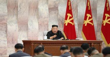 فيديو.. زعيم كوريا الشمالية يوبخ مسئولين لعدم تأمين مستلزمات لبناء مستشفى