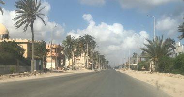 رياح وانخفاض فى درجات الحرارة بشمال سيناء فى أول أيام العيد
