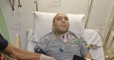 الطبيب البطل محمود سامى عن هدية السيسى: سأحتفظ بها ليتوارثها أولادى