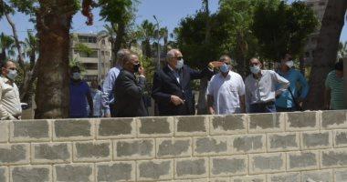 محافظ الجيزة يتفقد مجهودات رفع المخلفات من الشوارع الرئيسية بـ5 أحياء
