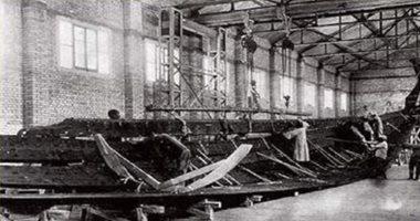 اكتشافات القرن الـ20..  مهندس مصرى يكتشف مراكب خوفو أثناء إزالة الرديم