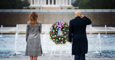 """فى يوم الذكرى.. ترامب عن ضحايا الحروب: """"لا يمكننا استبدالهم ولا وفاء دينهم"""""""