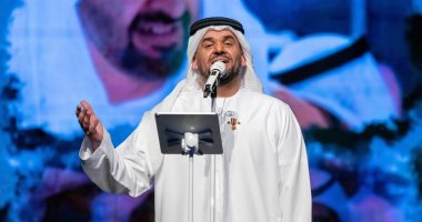 صور.. حسين الجسمى يطرب الجمهور خلال حفله فى ثانى أيام عيد الفطر