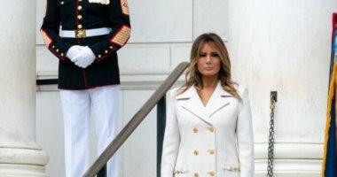 ميلانيا ترامب من أمام نصب تذكارى لضحايا الحروب: ضحوا بحياتهم من أجل أمتنا