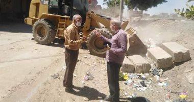 حملات نظافة وتجميل واستمرار أعمال الإجراءات الاحترازية في قرية أبو قرقاص