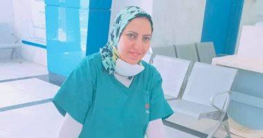 طبيبة بعزل العجمى متشبهة بـ«منسى»:إحنا على العهد ومش همشى قبل شفاء آخر مريض